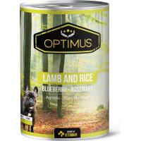 Pâtée Optimus Agneau et Riz pour chien