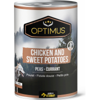 Paté Optimus Pollo e Patata dolce Senza Cereali per cani