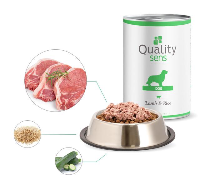 ingredients patée agneau riz quality sens