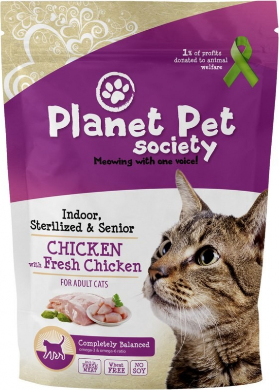 Planet Pet Indoor, Sterilized & Senior
