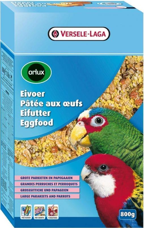 Pasticcio all'uovo secco per grandi parrocchetti + pappagalli