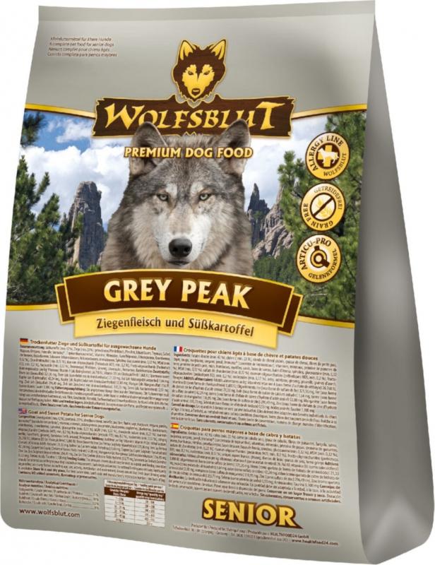 WOLFSBLUT Grey Peak croquettes pour chien senior à la viande de chèvre