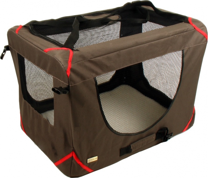Niche pliable et de transport pour chat ou très petits chiens Zolia EloryCat