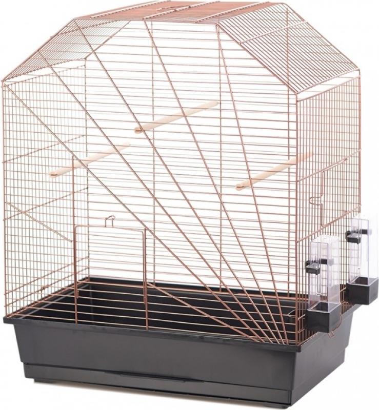 Duvo+ Cage pour oiseaux Copper Lexa - H64.5cm
