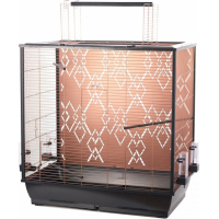 Duvo+ cage pour oiseaux Copper Alix - H81.5cm