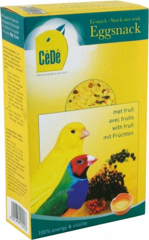 Cédé snack aux oeufs pour canaris/oiseaux exotiques