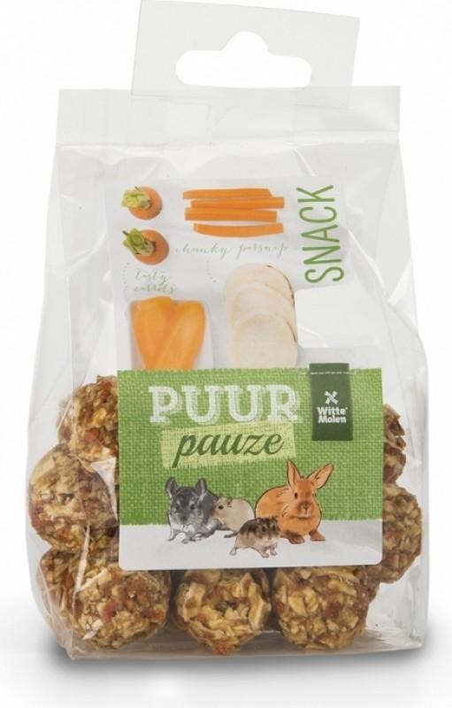 Witte Molen Purr friandises aux légumes, panais et carottes pour rongeurs
