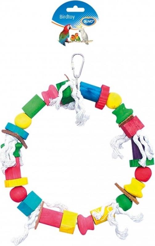 Duvo+ cercle en corde avec cubes colorés
