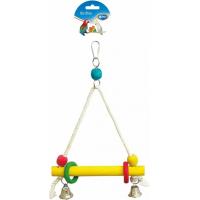 Duvo+ balançoire en corde avec cubes