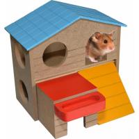 Duvo+ maison en bois pour hamster