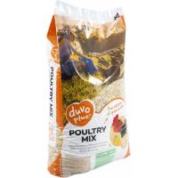 Duvo+ mélanges de grains au maïs pour poules et poulets