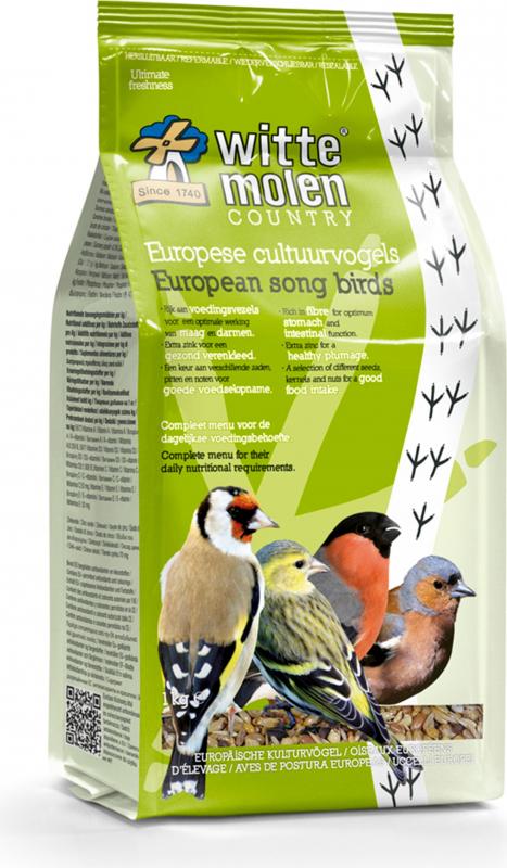 Witte Molen Country mélange graines pour oiseaux chanteurs