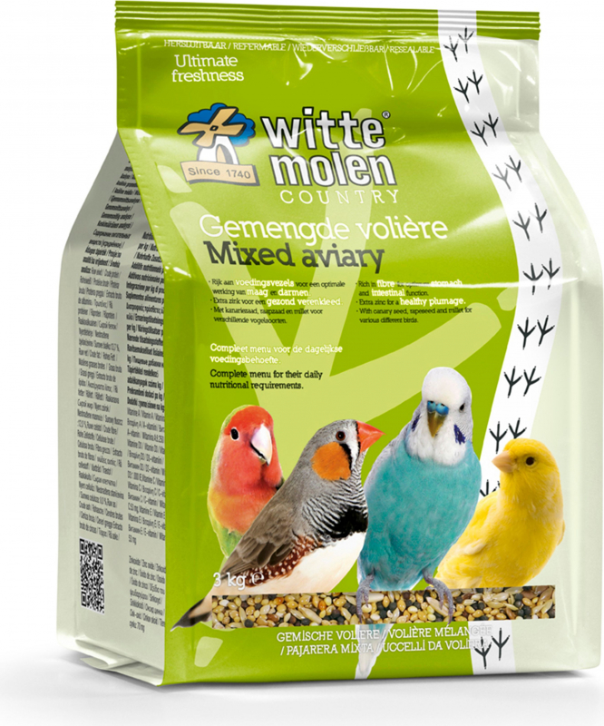 Witte Molen mistura de sementes para aves aviárias