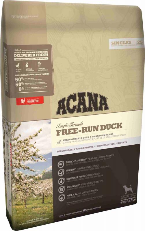 ACANA Free-Run Duck croquettes pour chien au canard