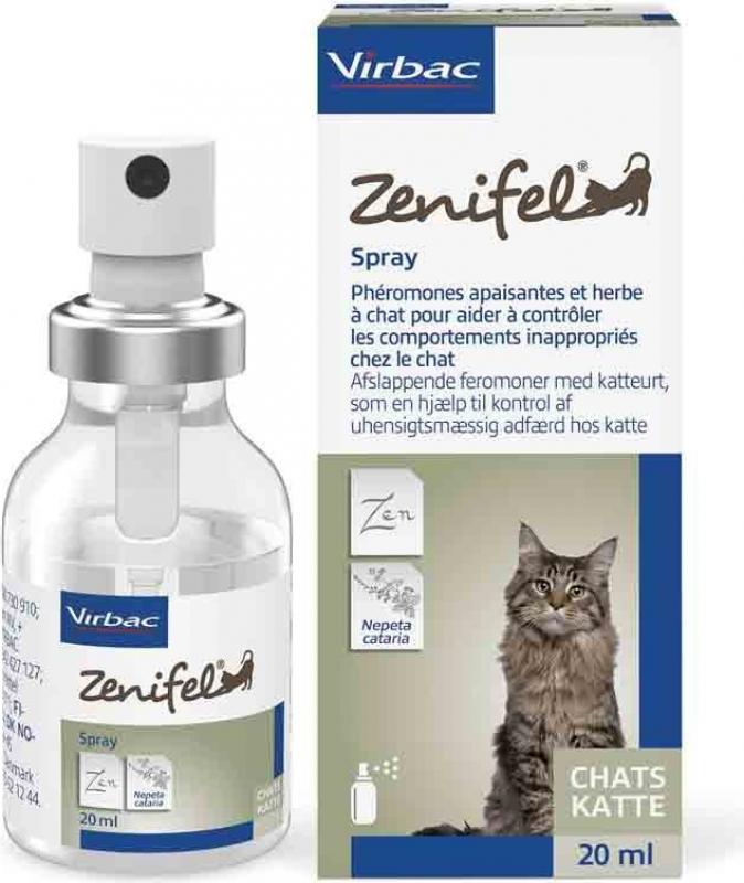 VIRBAC Zenifel spray apaisant pour chat