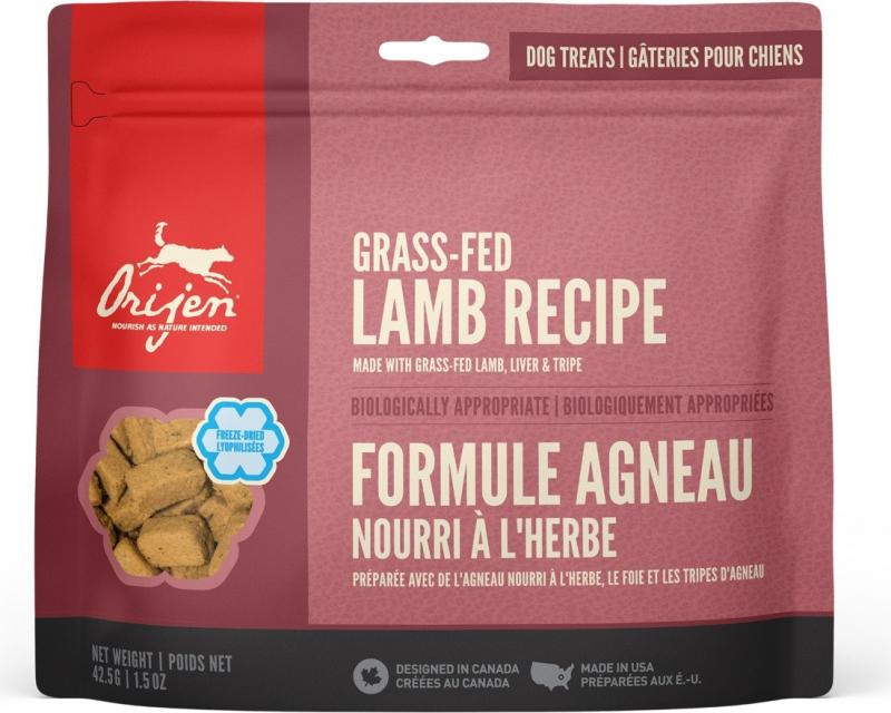 ORIJEN Friandises Romney Lamb à l'agneau pour chien