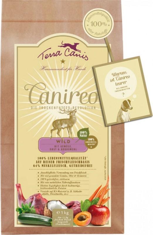 TERRA CANIS Canireo croquettes sans céréales pour chien au gibier