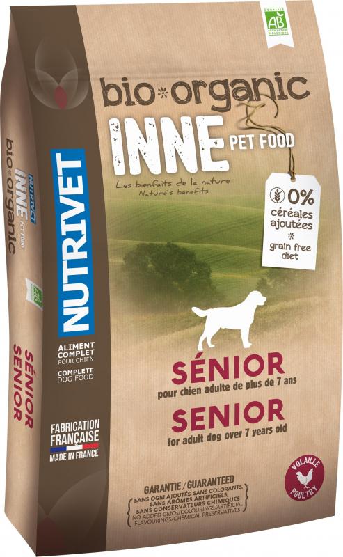 NUTRIVET Inne Bio Volaille pour chien senior