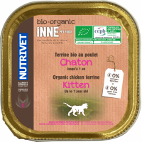 NUTRIVET Inne Bio Terrine pour chaton
