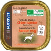 NUTRIVET Inne Terrine Bio Dinde pour chien senior