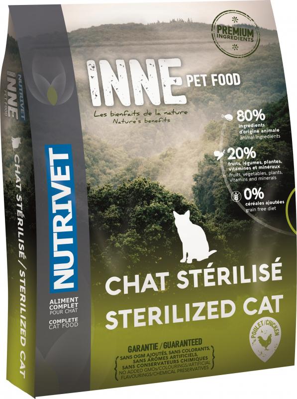 NUTRIVET Inne Poulet pour chat stérilisé