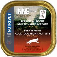 NUTRIVET Inne Terrine Boeuf pour chien adulte à haute activité
