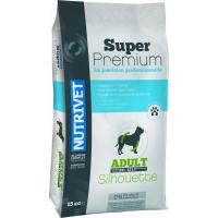 NUTRIVET Super Premium Silhouette Adult mit Geflügel für Hunde