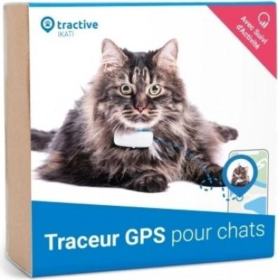 Tractive traceur GPS chat pour tout collier chat, avec suivi d'activité