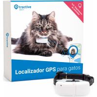 Rastreador Localizador GPS Tractive para gatos con seguimiento de actividad