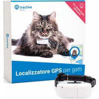 Localizzatore Tractive GPS per gatti con monitoraggio attività
