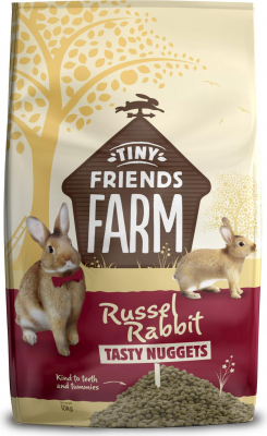 Tiny Friends Farm Russell Rabbit Tasty Nuggets lapin