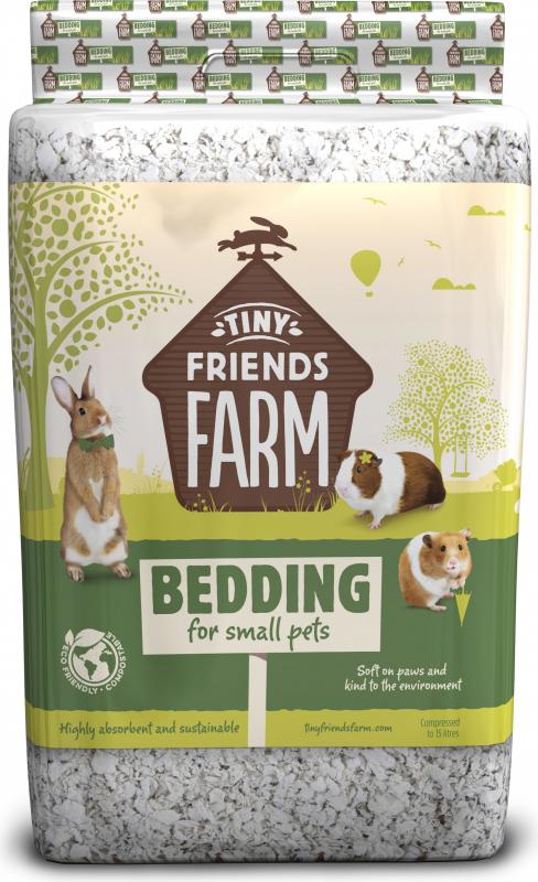 Liteira TINY FRIENDS FARM para roedores