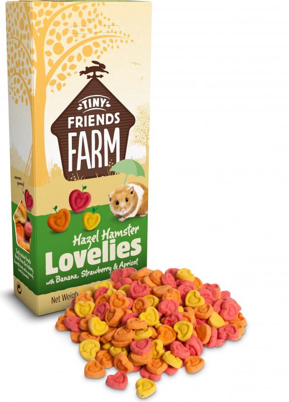 Biscuits TINY FRIENDS FARM aux fruit et légumes pour hamster