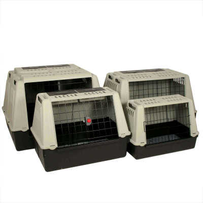 Transport Crates for dogs made of plastic