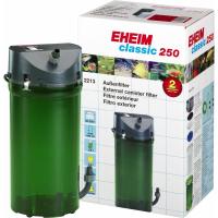 Filtre externe EHEIM Classic 250 avec mousses filtrantes et robinets