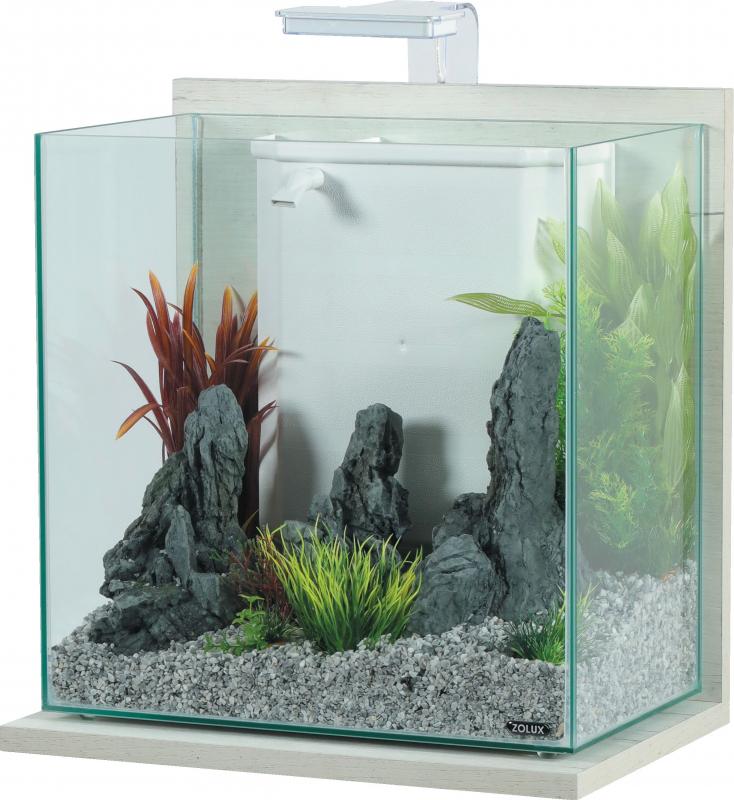 Kit aquarium IDRO 40L - plusieurs coloris