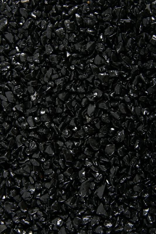 Sable noir pour aquarium Ashewa