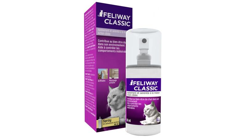spray feliway classic 60 ml caractéristiques