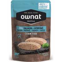 OWNAT Wetline Saumon et Hareng pour chat