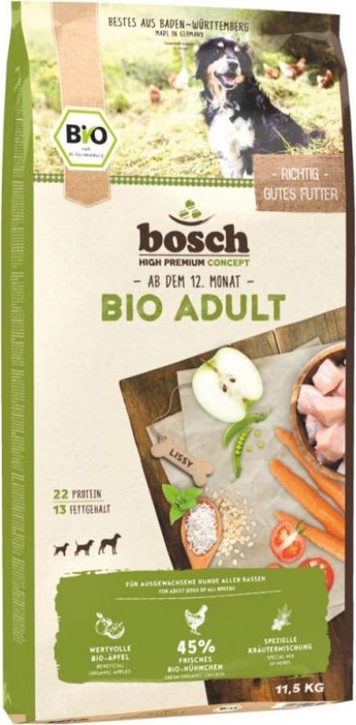 BOSCH Bio Adult au Poulet et Pommes pour Chien Adulte