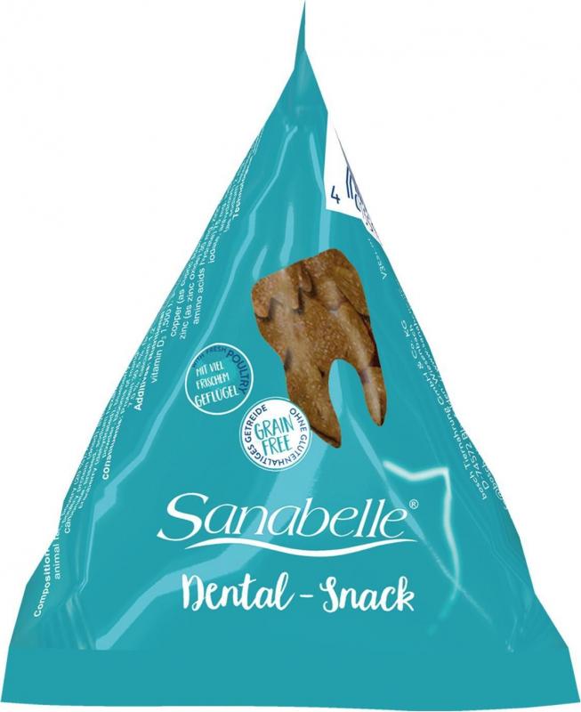 SANABELLE Dental Snack en Berlingot pour chat adulte