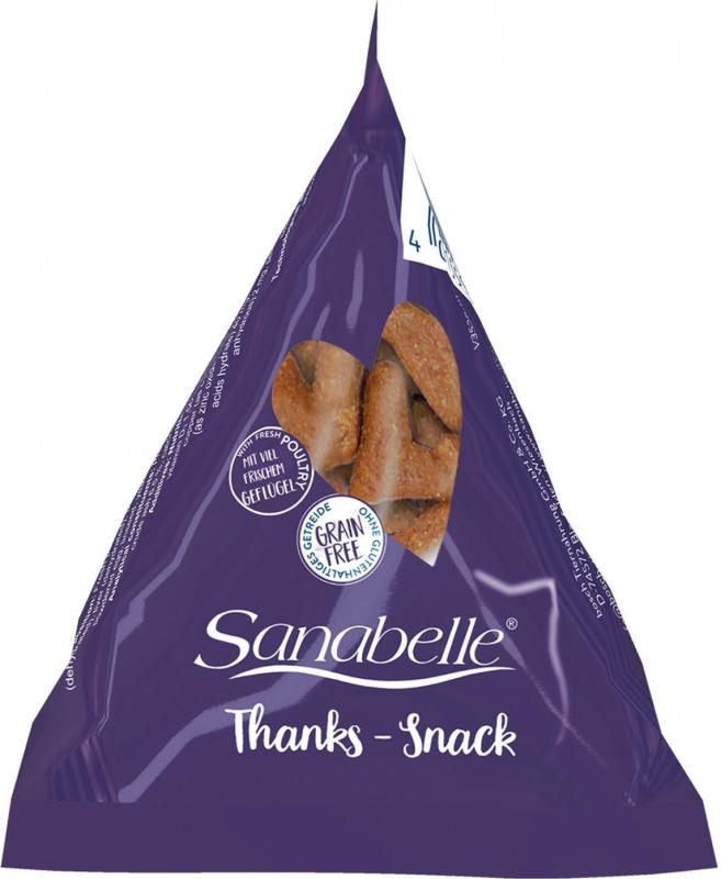 SANABELLE Thanks Snack en Berlingot pour chat adulte