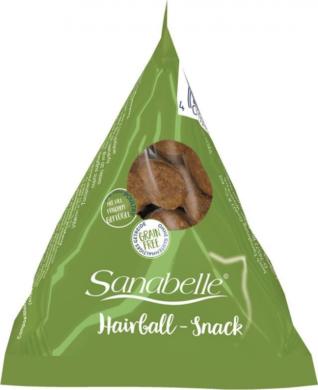 SANABELLE Hairball Snack en Berlingot pour chat adulte