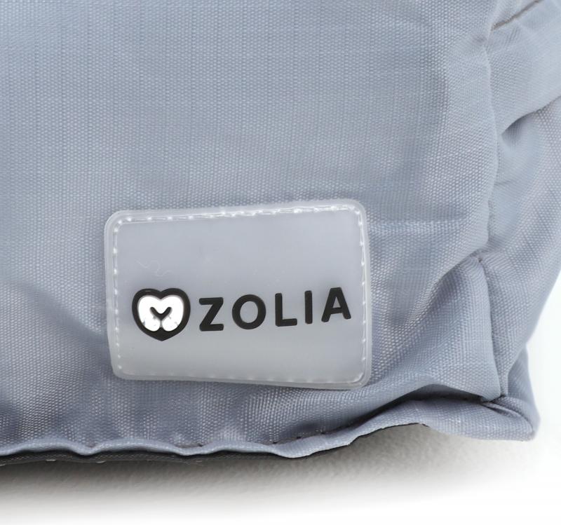 Coussin d'extérieur gris XXL Zolia Flopy II