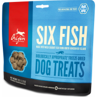 ORIJEN Friandises Six Fish au poisson pour chien