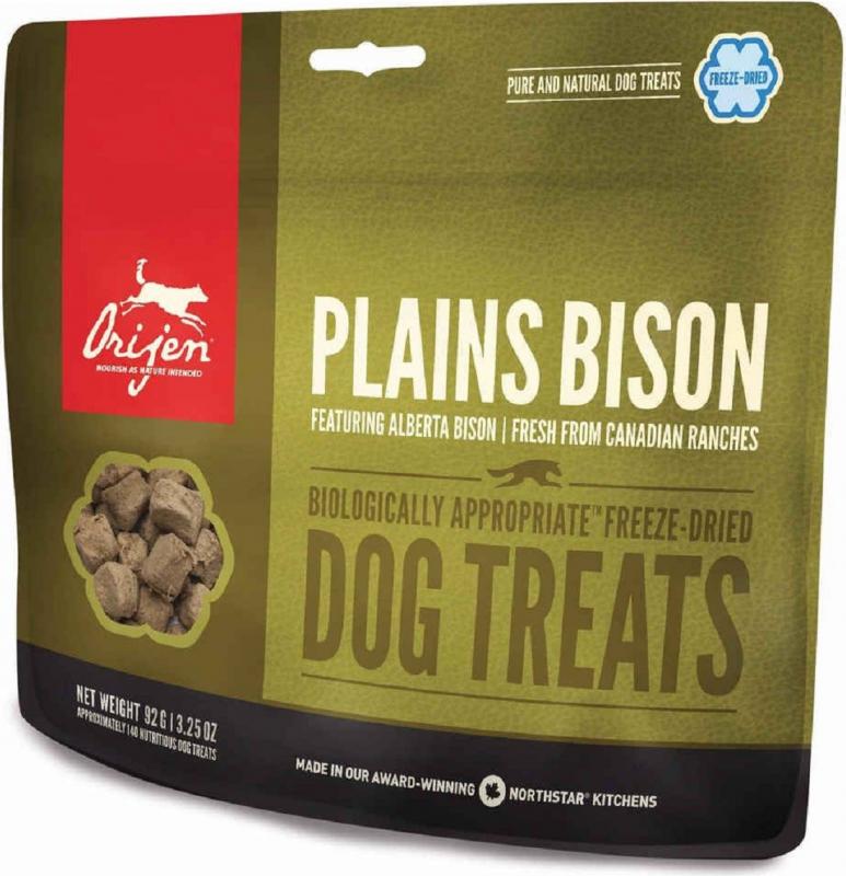 ORIJEN Friandises Plains Bison au bison et boeuf pour chien