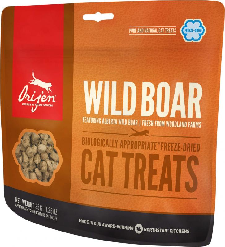ORIJEN Friandises Wild Boar au sanglier pour chat