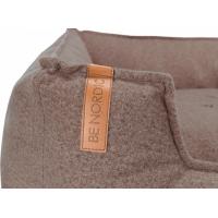 Föhr Soft BE NORDIC Sandfarbenes Hundebett