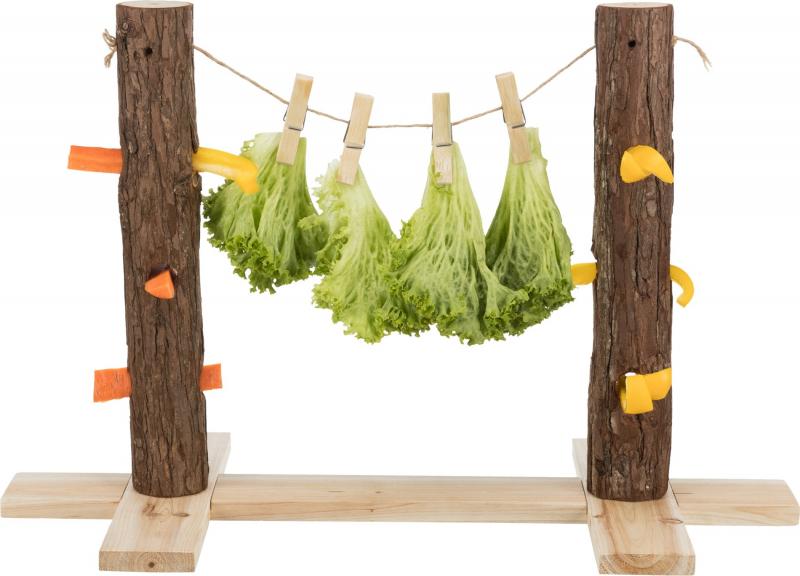 Tronc d'arbre pour aliments Duo Natural Living