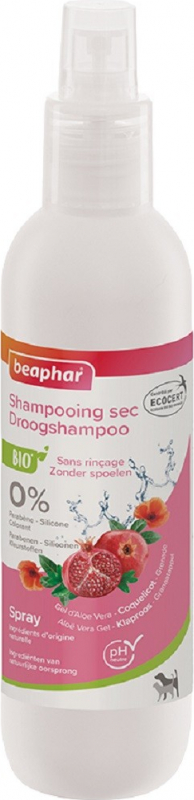 Spray shampoing sec Bio pour chien et chat